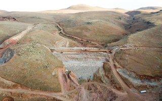 Köşk Barajı'nda çalışmalar aralıksız devam ediyor