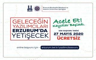 Erzurum'da yazılımcı yetiştirme vakti
