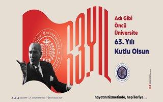 Atatürk üniversitesi 63 yaşına girdi