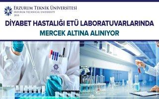 Diyabet hastalığı ETÜ'de araştırılıyor