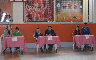 Aziziye kolejinde 'Tangram'yarışması