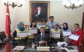 Altın kızlar AB eğitim sertifikalarını aldı
