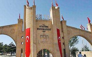 Atatürk Üniversitesi için kara tablo!