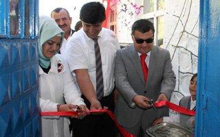 Hayırsever vatandaşın yardımıyla okul açıldı