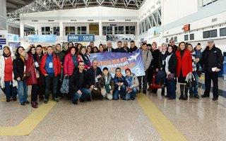 Erzurum'da Görevli Öğretmenler Avrupa'ya Uçtu