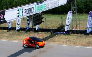 ATAKAR elektromobil takımı birinci oldu