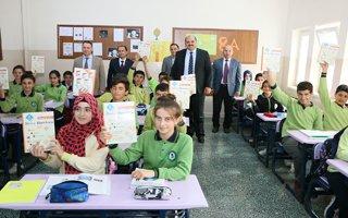 Aziziye Belediyesinden eğitime destek