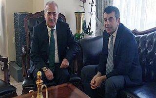 Çomaklı'dan Müsteşar Yusuf Tekin'e Ziyaret