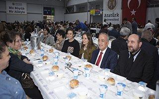 Atatürk Üniversitesi ailesi iftarda buluştu