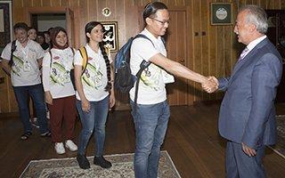 Çomaklı Türkçe Yaz Okulu öğrencilerini kabul etti