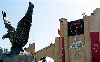 Atatürk Üniversitesi listeye 14. sıradan girdi