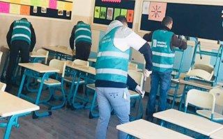 Erzurum'da Okullar Güzelleşiyor