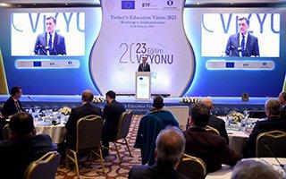 Çomaklı 2023 Eğitim Vizyonu Çalıştayına katıldı