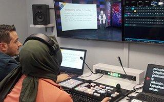 ATA-AÖF'te sanal stüdyo dönemi