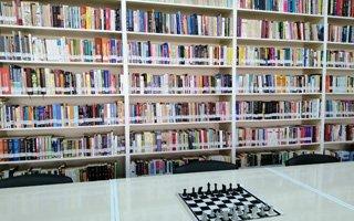 Terör mağduru köye en zengin kütüphane kuruldu