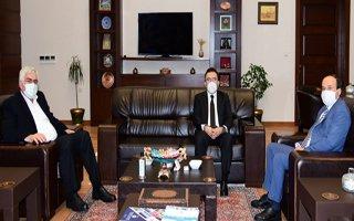 Milletvekili Altınok'dan Rektör Çakmak'a ziyaret