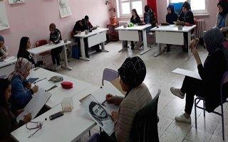 Erzurum'da lise öğrencilerine sanatsal etkinlik