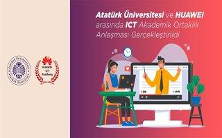 Atatürk üniversitesi ile Huawei arasında anlaşma