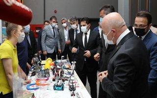 Erzurum'da 6. Robot Günleri yoğun ilgi gördü