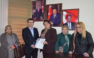 Erzurum'un ilk kadın aday adayı!