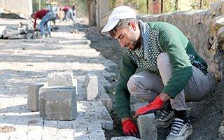Aziziye Belediyesi çalışmalarına hız verdi
