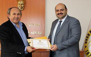 Başkan Orhan'dan DAGC'ye ziyaret