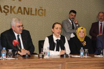 AK Parti Kadın Kolları Başkan Çelik oldu