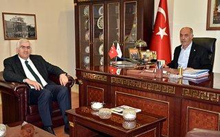 İl Başkanı Öz'den Başkan Yücelik'e ziyaret