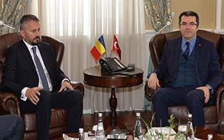 Romanya Büyükelçisi Vali Memiş'i ziyaret etti