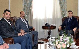 Başkan Kırkpınar'dan Vali Memiş'e ziyaret