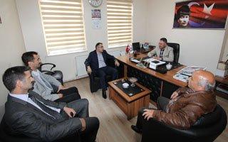 Başkan Cengiz'den Memur-Sen'e ziyaret