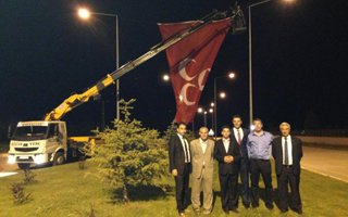 Bozkurt'ların Bayrak mesaisi!