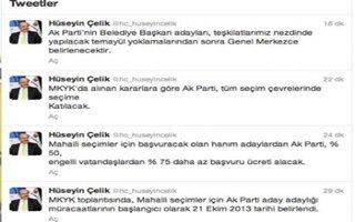 AK Partide bayan adaylara yüzde 50 indirim
