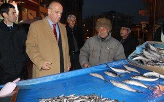 Milletvekili Ilıcalı Balık Dağıttı