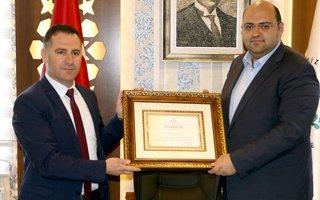 Başkan Orhan'a Bakanlık'tan Teşekkür