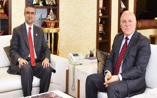 Milletvekili Aydın'dan Başkan Sekmen'e ziyaret