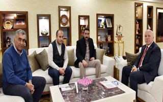 Ülkü Ocakları Başkanı Ertaş'tan Sekmen'e Ziyaret