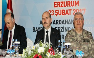 Bakan Soylu Bölge Güvenlik Toplantısına Katıldı