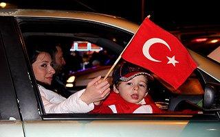 Erzurum'da ''evet'' coşkusu