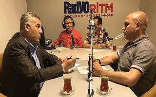 Ali Korkut, Radyo Ritm'e konuk oldu...