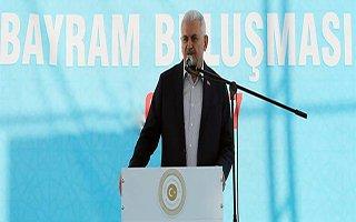 Başbakan Yıldırım Erzurum'dan Seslendi