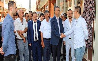 Kamil Aydın'dan 'Geçmiş Olsun' Ziyareti