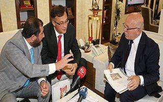 Belarus Büyükelçisi'nden Sekmen'e Ziyaret