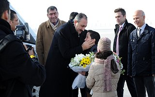 Adalet Bakanı Abdülhamit Gül Erzurum'da