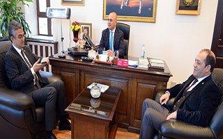 MHP'li Kamil Aydın'dan Başkan Korkut'a Ziyaret