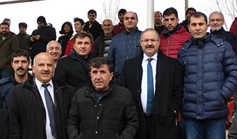 Milletvekili Deligöz amatör maçını izledi