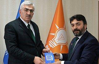 SP'li Faik Çalık'ın Ak Parti ve MHP ziyareti