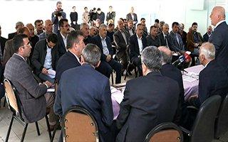 Başkan Sekmen Tortum ve Uzundere'de