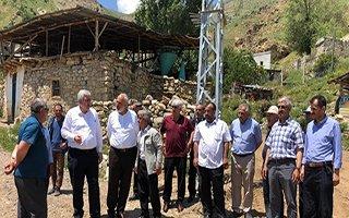 Öz'den köylere teşekkür ziyareti