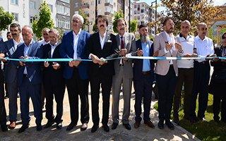 Palandöken Belediyesi Millet Bahçesi'ni Açtı